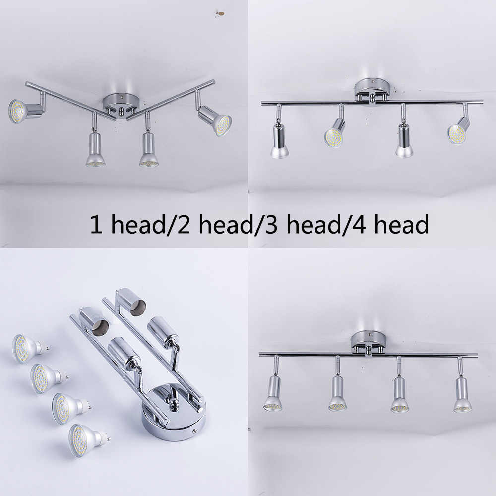 Adjustable angle Ceiling Spot Light Fixture Living Room LED Ceiling lamp Bedroom Bed Bedside Indoor Lighting