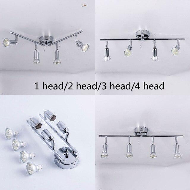 Adjustable angle Ceiling Spot Light Fixture Living Room LED Ceiling lamp Bedroom Bed Bedside Indoor Lighting
