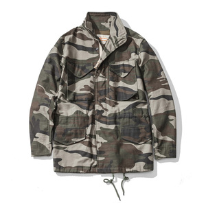 Image 4 - A.C.E. US Army The 1966 M65 Replica Field Trench Coat Camouflage Military Jacket Winter Long Outwear