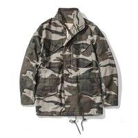 A.c.e. Армии США 1966 M65 Реплика поле Тренч камуфляж военная зимняя куртка длинная верхняя одежда