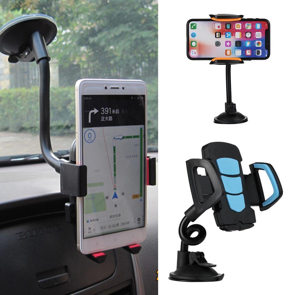 1 Pc Universal Auto Windschutzscheibe Zell Smartphone Halter 360 Grad Einstellbare Cradle Flexible Rotierenden Halter Auto Zubehör