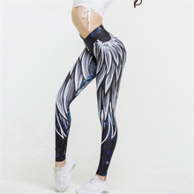 sexy legins Harajuku 3D wing leggings for women 2019 push up sporting fitness legging athleisure bodybuilding sexy women's pants