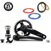 IXF Mountain bike suit 36 T singolo disco dente piatto dente larghezza positivo e negativo piastra in alluminio ultraleggero gear piatto ovale