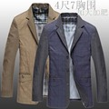 2016 new arrival men's spring autumn suit outerwear casual fashion blazer super large obese plus size 3XL 4XL 5XL 6XL 7XL 8XL