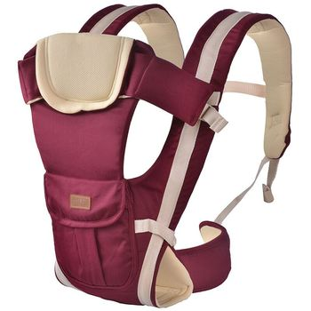 Ergonomic Baby Carrier Infant Baby Hipseat Carrier Front Facing Ergonomic Kangaroo Baby Wrap Sling  New  baby carrier 30 Months