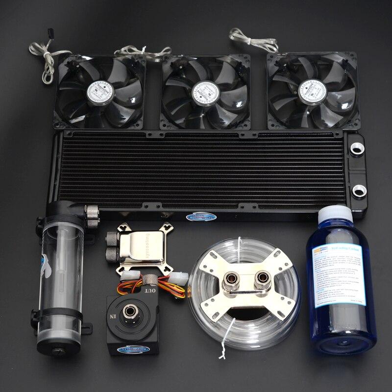 система водяного охлаждения для компьютера цена - Syscoolking computer cooling water system cpu radiator gpu water block