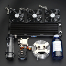 Syscoolking computer cooling water system cpu radiator gpu water block syscooling sc cs23 watercooling kit cpu block gpu block northbridge block pump 240 water radiator