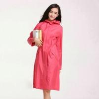 High Quality Fashion Ponch Personality Rain Coat Solid Zipper Waterproof Adult Raincoats Women Outdoor Rainwear Jacket