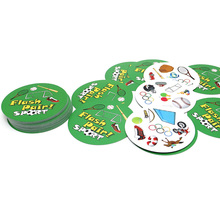 2019 hot board game flash pair spot high quality paper no metal box sport animals best