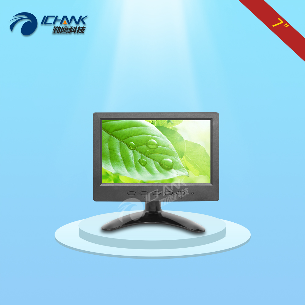 B070JN-ABHV/7 inch monitor/7 inch display/7 inch portable mini monitor/Raspberry Pi 3 monitor/7 inch 1024x600 endoscope monitor;
