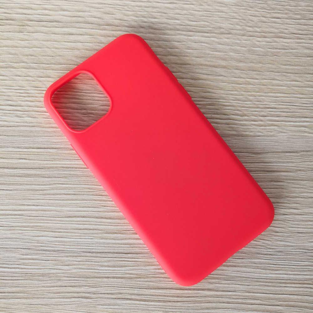 キャンディマットシリコーン Coque Iphone 11Pro 最大 2019 ケース iphone 11 プロマックス電話バック Coque カバーケース