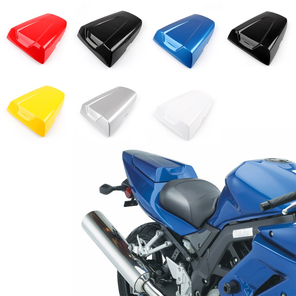 Areyourshop Motorcycle ABS Plastic Rear Seat Cover Cowl For SUZUKI SV650 SV1000 2003-2012 Motorbike Part New Arrival
