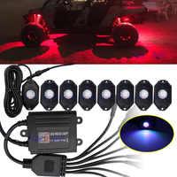 RGB LED Rock Lichter Bluetooth Multicolor Neon LED Licht Kit mit 4 in 1 multi-farbe für Jeep Lkw auto ATV SUV Fahrzeug Boot