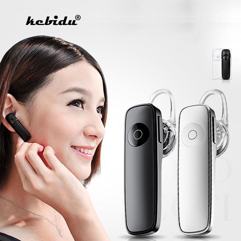 Kebidu Горячая 1 шт. 4.0 наушники беспроводные bluetooth стерео мини-гарнитуры наушники с микрофоном для Xiaomi для всех телефонов