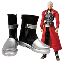 Anime Fate stay night Red Archer Emiya Boots Cosplay Party Shoes Custom made
