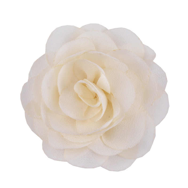 1PC /2PCS Soft Chiffon Rose Flower Hairpin Fabric Print Hair Flowers Clips Girls Newborn Headband Wedding Party Hair Accessories