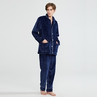 Men Unisex Lovers Super Soft Microfiber Sleepwear Home Wear Loungewear Pajama Sets With Pajama Long Pants
