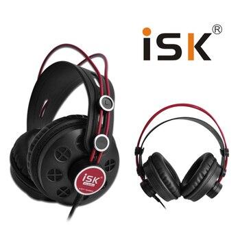 حار ISK HP-580 الأصلي سماعة شبه المفتوحة الديناميكي ستيريو رصد سماعة DJ سماعة إلغاء الضوضاء سماعة الضوضاء إلغاء