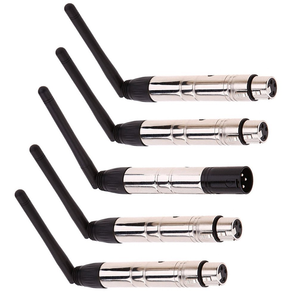 DMX512 without receiver and transmitter LED-wires for the stage lighting, 4-pin socket & 1 male pin DMX connection controller free shipping 4pcs lot xlr 5 pin female to 3 pin male dmx adapter socket converter for stage lighting