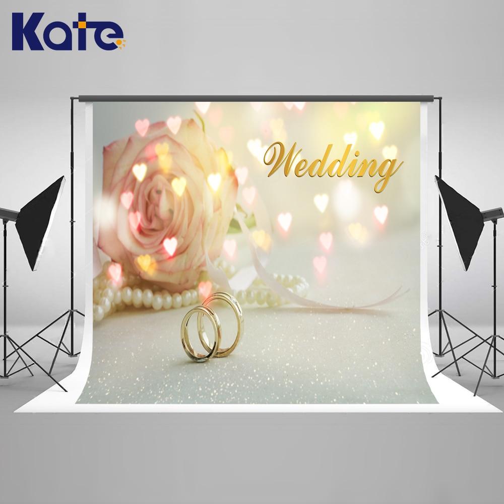 KATE Wedding Backdrops Love Rose Background Bokeh Light Photography Background for Photocall Wedding сумка kate spade new york wkru2816 kate spade hanna