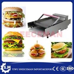 Chinese commercial Hamburger Machine Double deck plate baking machine Hamburger Machine Dryer Charter machine