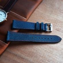 Fashion Leather Watch Strap Head Layer Cowhide Litchi Pattern Handmade Watch Accessories Watchband For Women Man #C zhoulianfa t355 fashion deer pattern litchi quartz watch