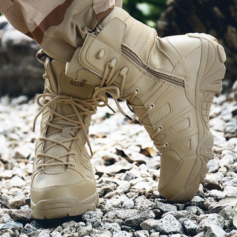 Chaussures Militaire Grande Noir 41 En Hommes Bota Masculina Black Bottes Désert Pour 46 Plein Pinsv Air sand Combat De Taille Color Armée Tactique qrtrY