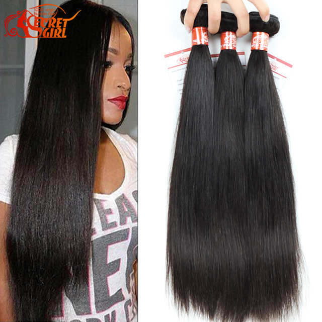 Indian Straight Virgin Hair Cheap 3 Bundle Deal Unprocessed Human