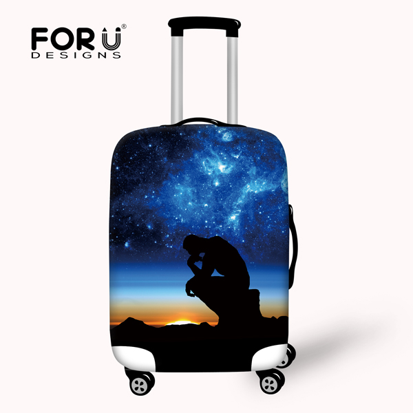 Hot Status Universe Space Travel Luggage Protective Cover Apply to 18-30inch Suitcases Luggage Case Cover Suitcase Accessories