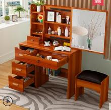 Dressing table bedroom dressing simple multi-function 60 small family web celebrity cabinet .