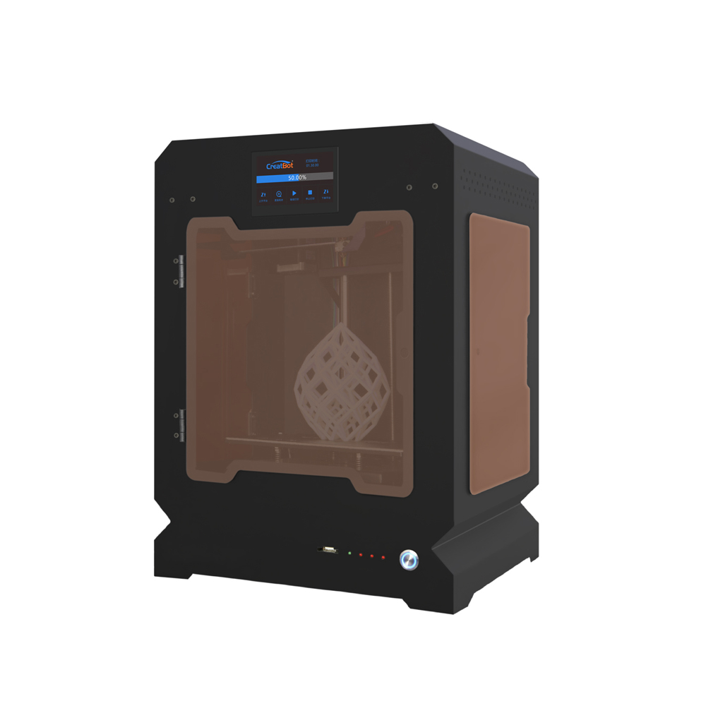 F160 Single Extruder 160*160*200mm Creatbot 3d printer Metal Frame All closed heated room 1.75mm ABS Printing