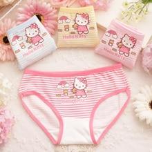 Calcinha Infantil Underwear 6pcs Baby Girl Underwear Kids Panties Child's For Shorts For Nurseries Children's Briefs C1070
