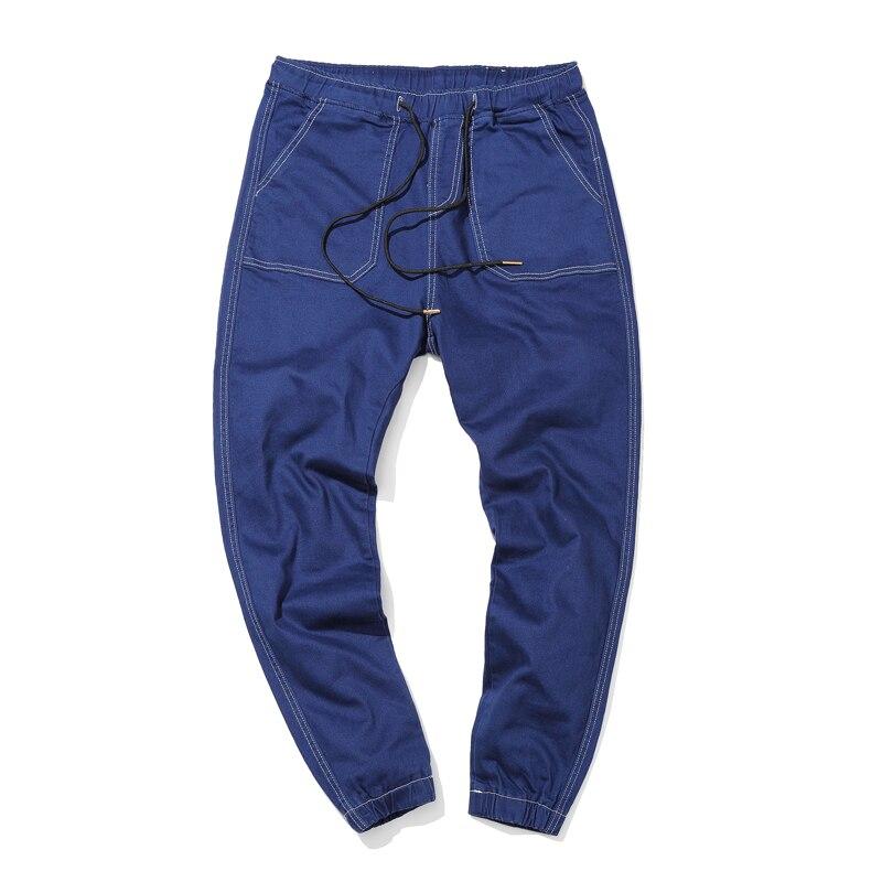 2016 new autumn Men Jeans Haren collapse pants black Designer Jeans Mens plus size 4XL Mens Denim Jeans top quality jeans mens sports pants bloomers black size xl