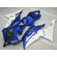Injection mold motorcycle fairings For YAMAHA YZF R6 2008 2009 2013 2014 YZFR6 08 14 white blue black customize fairing kit JL43