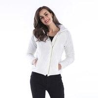 Plus size Autumn jacket women 2018 Fashion Ladies Zipper basic Winter hooded Outwear Female Coats Windbreake Casaco Feminino