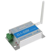 Relé de Control inalámbrico GSM sms controlador gsm abridor de puerta interruptor de Control remoto Sistema de Alarma de Ladrón del Hogar de Seguridad
