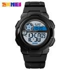 SKEMI Men Watches Luxury Brand Men PU Sports Watches Men's Digital LED Digital Clock Waterproof Military Wrist Watch 1437