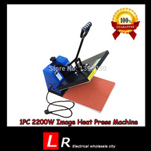 1pc 2200W Image Heat Press Machine for T-shirt with Printing Area Available for 38 cm x 38 cm