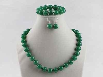 BF chọn Màu 10 mét Necklace17 Bracelet7.5 & Earrings Set Trang Sức
