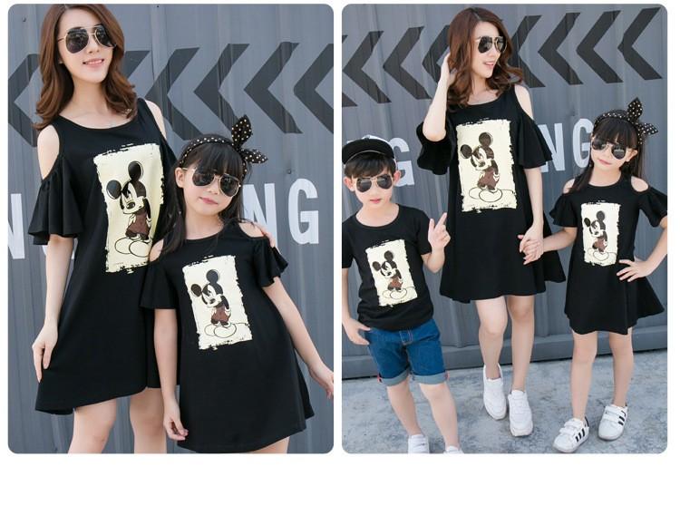 HTB17poUKXXXXXX1apXXq6xXFXXXH - Entire Family Fashion - Matching Outfits - Stylish Casual Look - Cartoon Mouse Print
