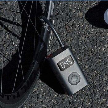 В наличии Новый Xiaomi Mijia Портативный Умный Цифровой датчик давления в шинах Электрический насос для велосипеда мотоцикла автомобиля футбола