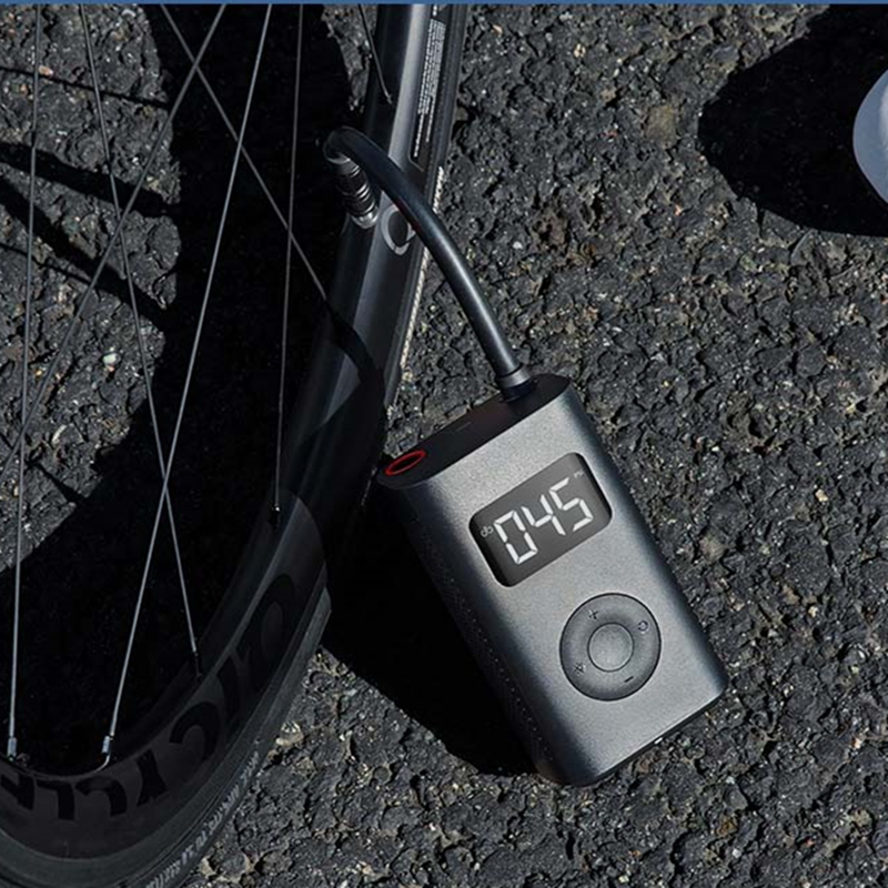 cheapest Newest Xiaomi Mijia Portable Smart Digital Tire Pressure Detection Electric Inflator Pump for Bike Motorcycle Car Football