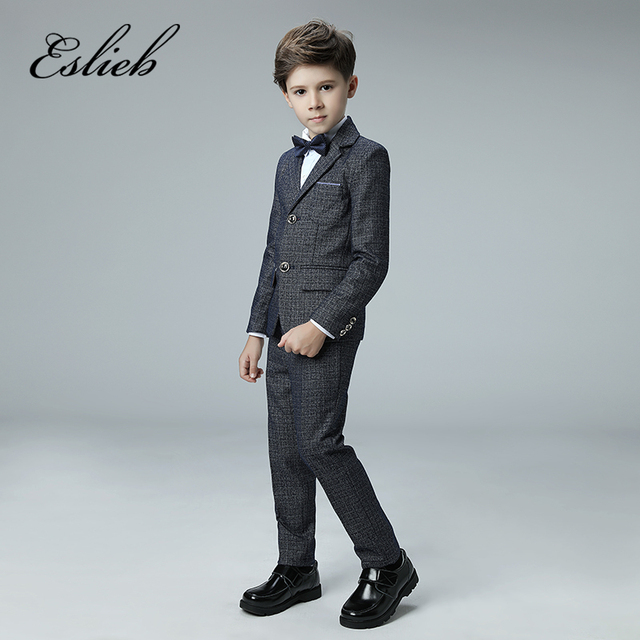 1bb4e3bb1e2d Custom made 4pcs Single Breasted boy's kids boy suit for weddings prom  formal Boy's Attire for wedding boy suits with tie