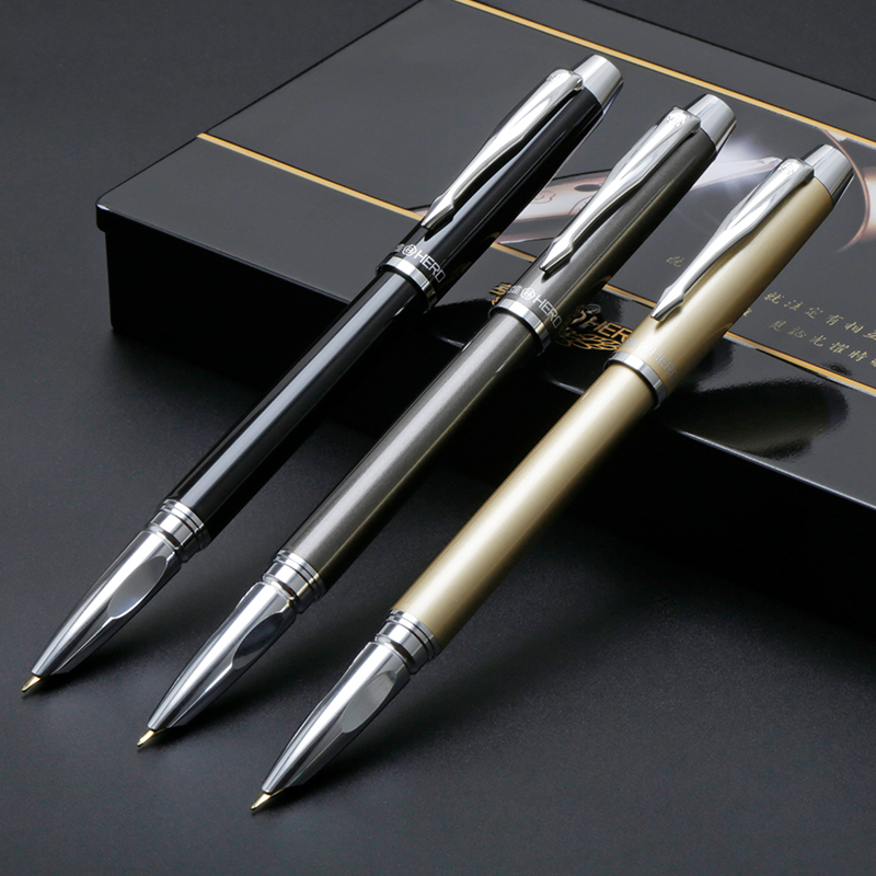 Fountain Pen Black Gold Dark Grey Interchangeable 0.5 Iridium Rollerball Nib 0.38mm Extra Fine 0.8mm Bent Nib Gift Pens SetFountain Pen Black Gold Dark Grey Interchangeable 0.5 Iridium Rollerball Nib 0.38mm Extra Fine 0.8mm Bent Nib Gift Pens Set