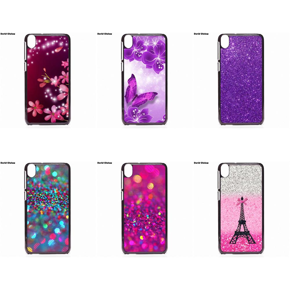 the best attitude fa95f 0c81a David Clulow Pink Glitter Mobile Phone Cases For HTC One M7 M8 M9 A9 Desire  626 816 820 830 Google Pixel XL One Plus X 2 3