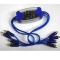 Cuatro Canales de Audio Curciut Eliminar Filtro de Ruido Ground Loop Isolator 4 Rca Ap3054