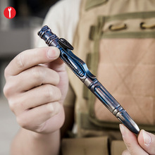 8 In 1 Hollow Multifunctionele Tactische Pen Multifunctionele Zelfverdediging Pen Anti-Wolf Alarm vrouwen Zelfverdediging Edc Tool Wapen
