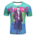 Suicide squad men 3d t shirt Harley Quinn joker T-shirts Deadshot Boomerang Summer Tops Short Sleeve Round Neck Tees