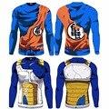 2016 Новая Мода 2016 Dragon Ball Z Футболка Бить Гоку-Krillin Мода Футболка Ти Camiseta Одежда