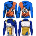2016 Nueva Moda 2016 La Camiseta Para Vencer A Goku de Dragon Ball Z Krilin Ropa de Moda Camiseta de La Camiseta Camiseta